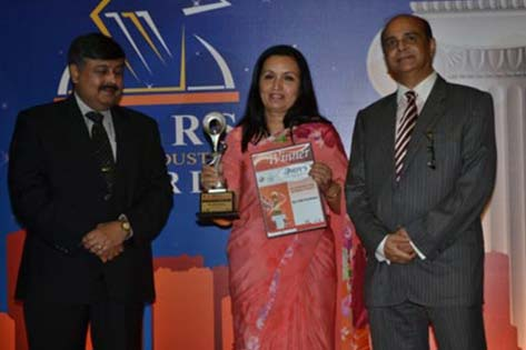 "Max India Foundation was awarded the 5th INDY's Award ""Best in Corporate Social Responsibility Practices"" at Taj Lands End, Mumbai."