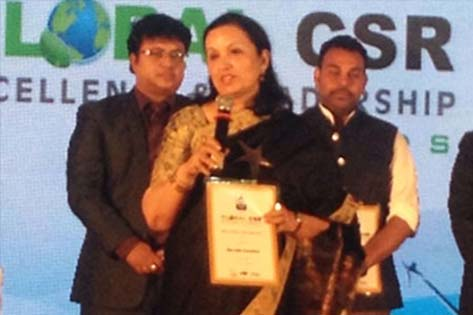 Max India Foundation felicitated with the 'Best Overall CSR Practice Award'