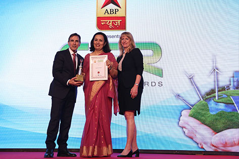 CSR Leadership Award by ABP News