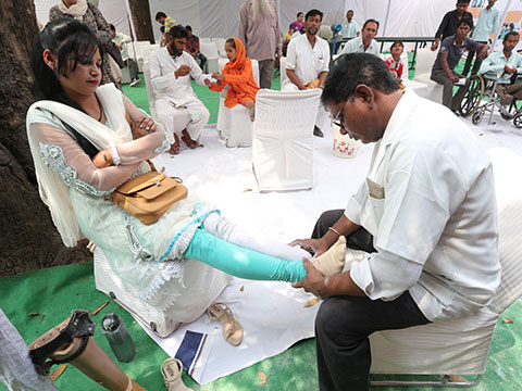 9th Artificial Limbs and Polio Calipers Camp