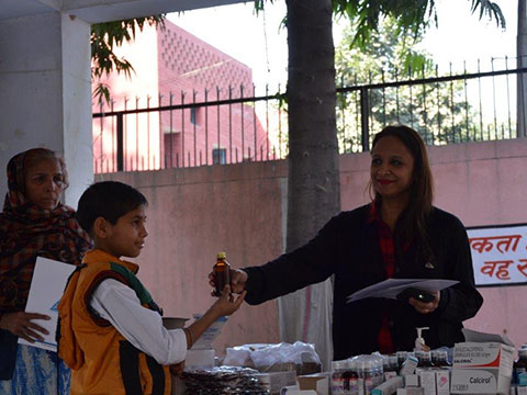 ENT and Immunization camp organised in Sonepat.