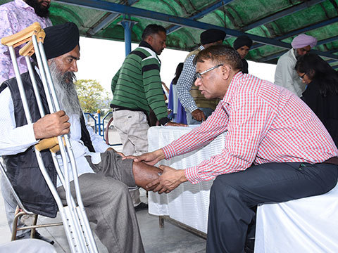 Artificial Limbs and Polio Callipers Camp