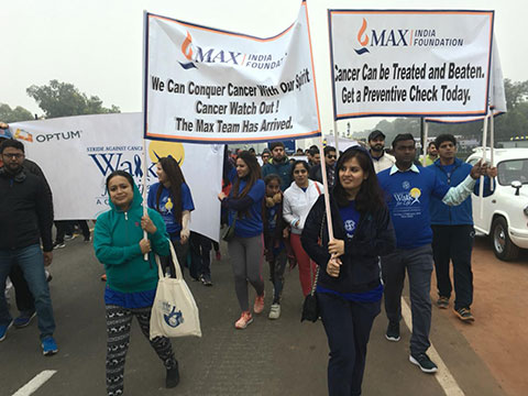 Cancer Awareness via 'Walk for Life'