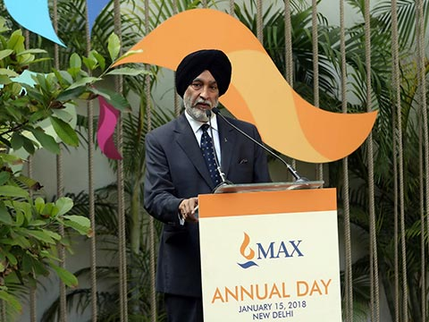 ​ ​Launch of the Coffee Table Book on Max Annual Day