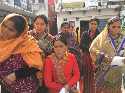 A women health and anemia screening camp