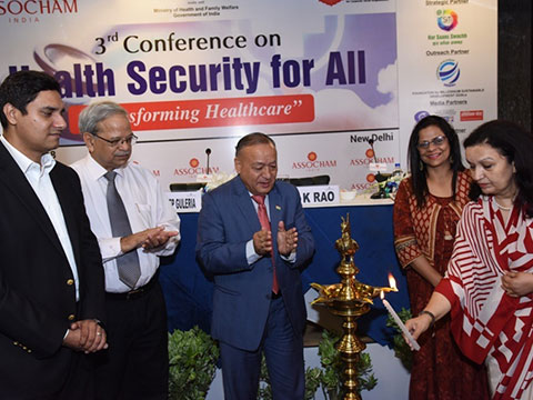 Conference on Health Security | Lamp Lighting
