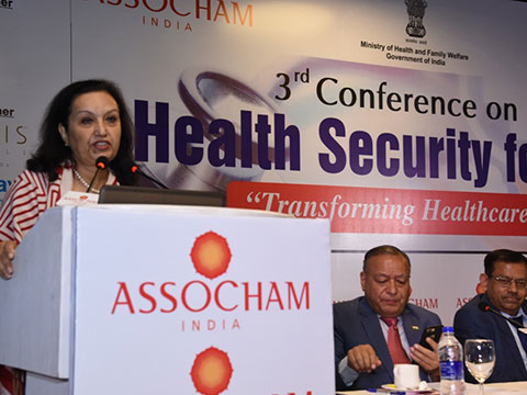 Conference on Health Security | On Dias