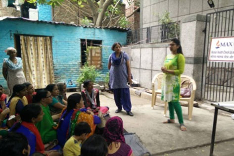 Aanganwadi Worker's training on Cervical Cancer