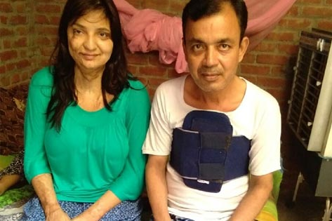 Sarfaraaz treated for heart disease and his daughter underwent reconstructive surgery from Uttarakhand.